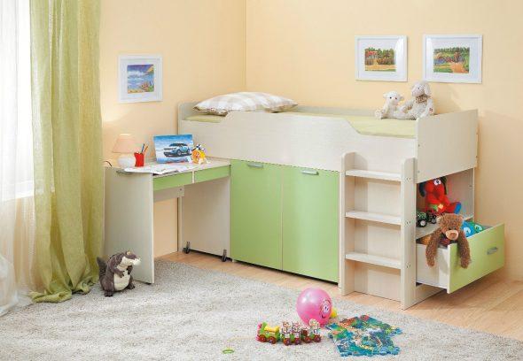 Пример детской кровати