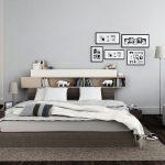 Пример полки над кроватью