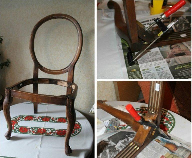 Отремонтировать стулья своими руками 81