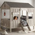 домик кровать для одного ребенка