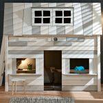 одноэтажный домик кровать в детскую