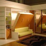 Шкаф диван-кровать трансформер