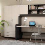 современная мебель стол-кровать