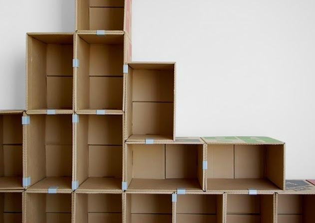 Как сделать своими руками полочку из картона