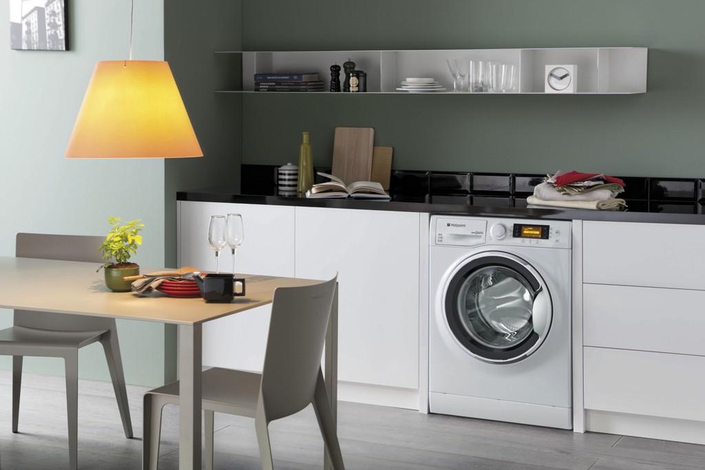 стиральная машина на кухне удобство