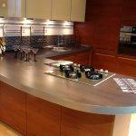 столешница на кухне с кромкой