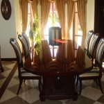 стулья деревянные мягкие стол