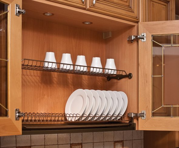 сушилка в кухонном гарнитуре