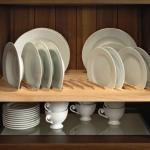 деревянная сушка для посуды