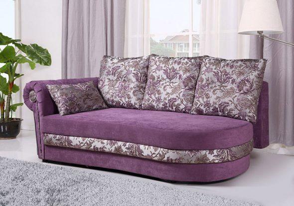 тахта фиолетовая