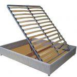 Вариант подъемной кроватис ламелями