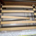 Вид крепежа деревянных ламелей