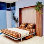 Вместительная кровать-шкаф