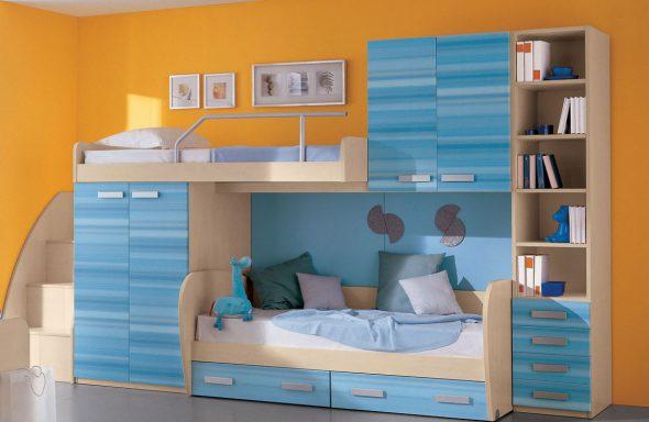 выбираем двухъярусную кровать для детей