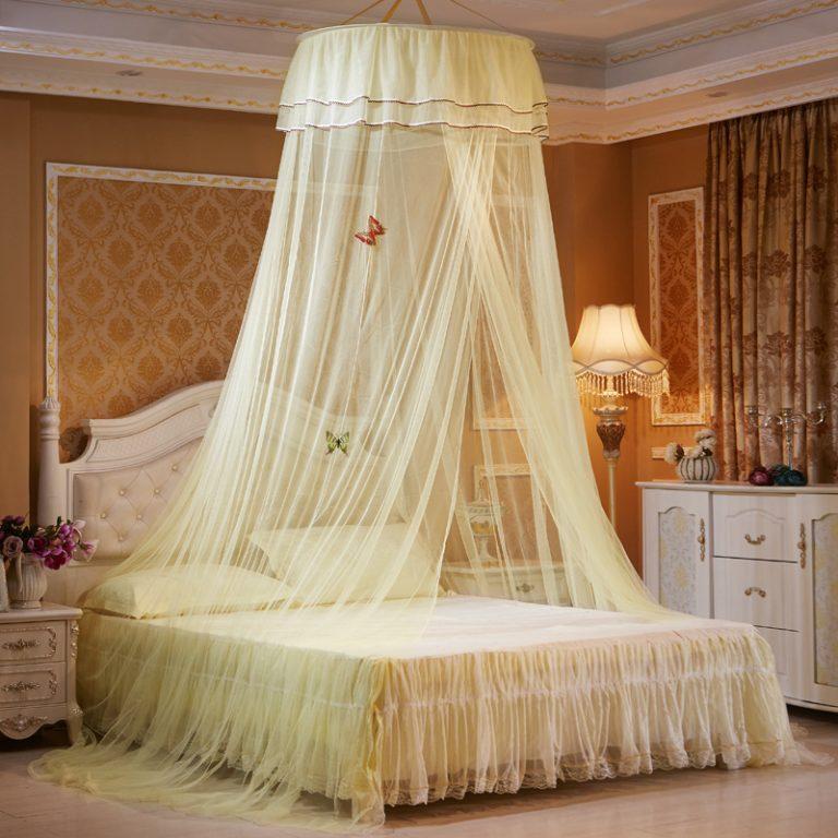 Как сделать кровать с балдахином 130