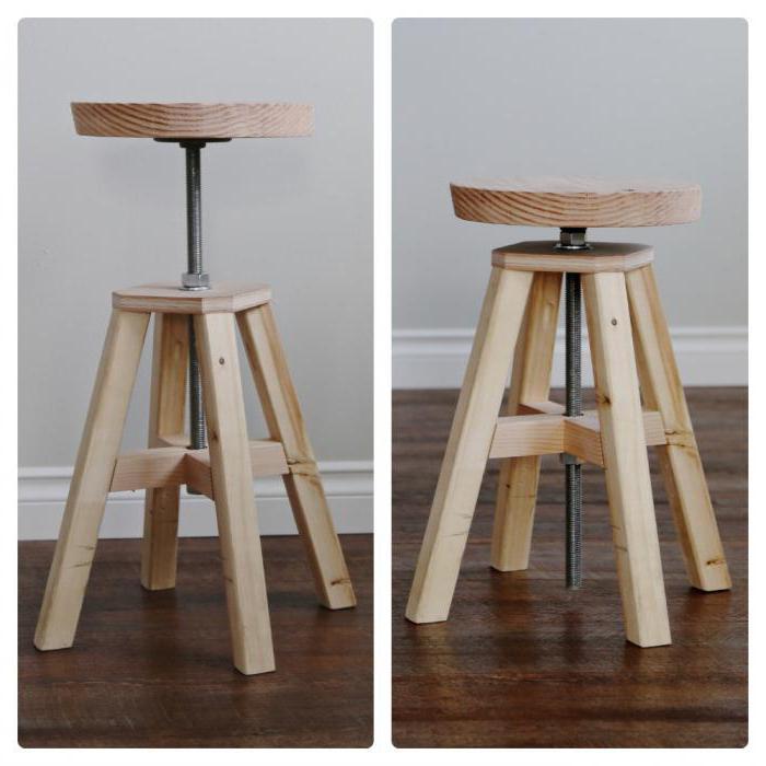 Барный стул для кухни своими руками 47