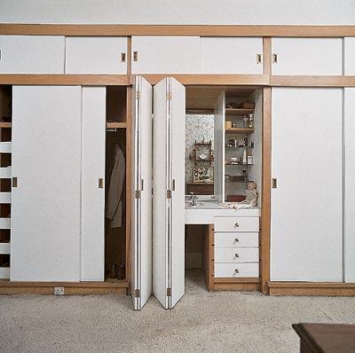 Декоративная шкаф-перегородка