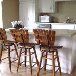 Деревянные барные стулья для кухни