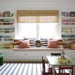 Дизайн детской шкафы по обоим сторонам окна