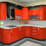 Гарнитуры для маленьких кухонь