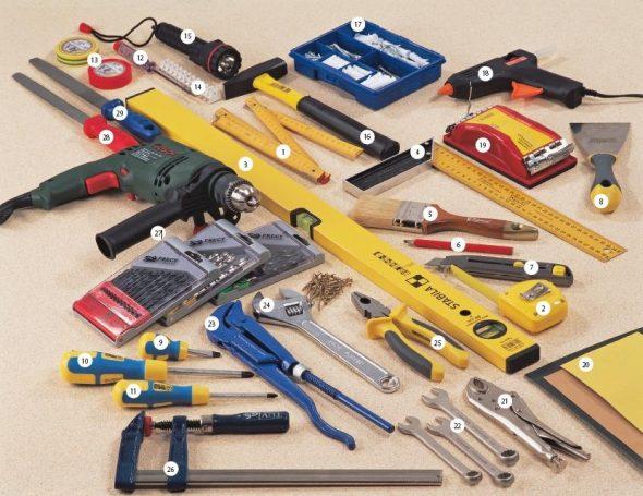 Инструменты для сборки и разборки мебели