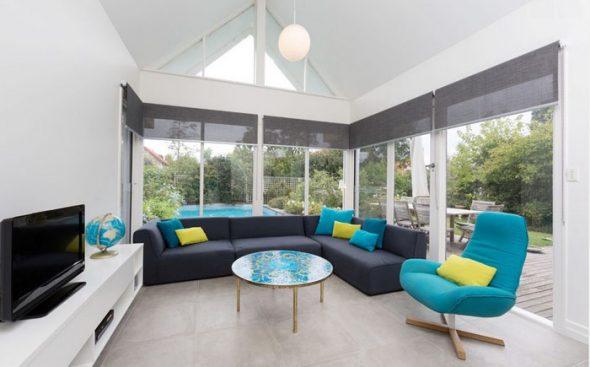 Интерьер гостиной в дизайне