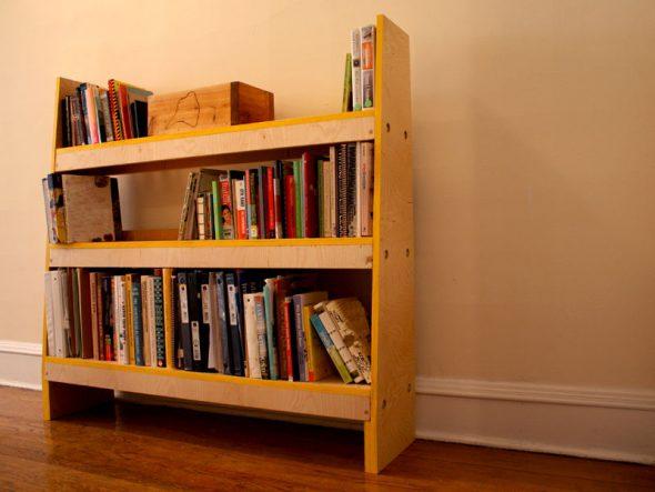 Этажерка деревянная для книг