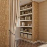 обновление шкафа с помощью обоев