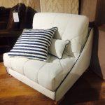 Кресло кровать на заказ белого цвета