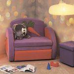 Кресло-кровать в детскую комнату