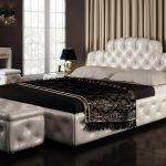Кровать Милена из экокожи