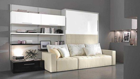Кровать-угловой диван Амели