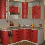 Кухонные гарнитуры с угловой мойкой
