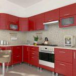 Кухонный гарнитур из стекла