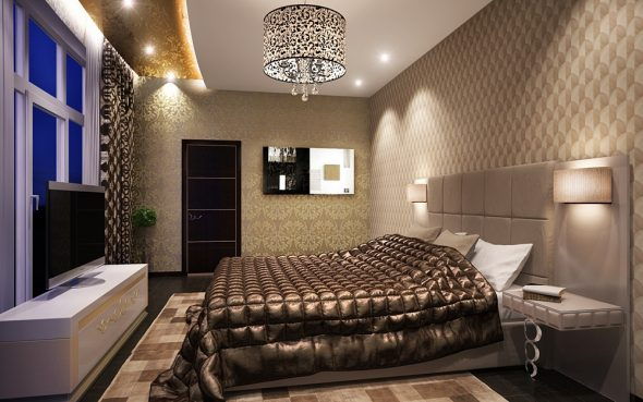 Спальня арт деко