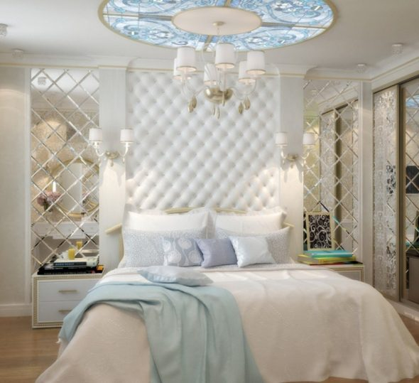 маленькая спальня классика