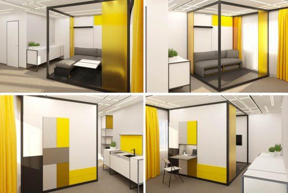Мебель-трансформер в мини квартиру