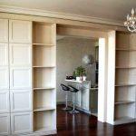 Мебель в виде перегородки - возможные решения