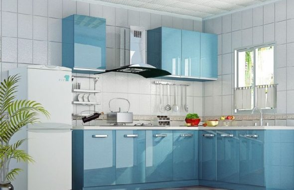 Подбор цвета кухонных гарнитур