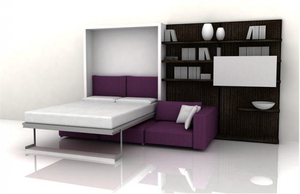 Подемная кровать с диваном