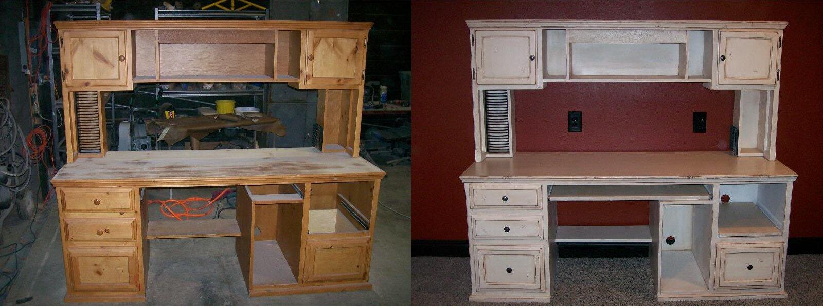 Реставрированная мебель своими руками