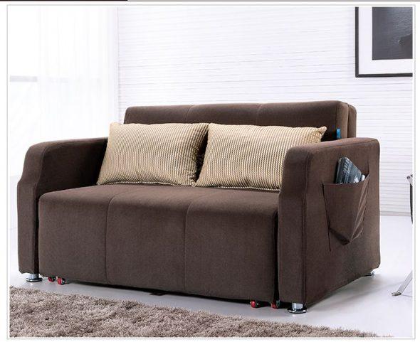 Раскладной диван с карманом