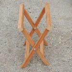 Раскладной стульчик с тканевой сидушкой