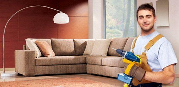 Разборка дивана своими руками