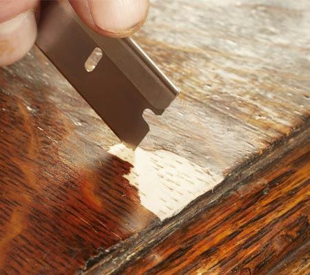 Как отреставрировать шпонированную мебель своими руками