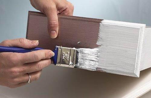 Какой краской покрасить дсп