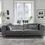 Серый диван изюминка интерьера