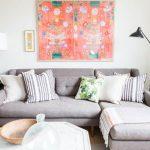Серый диван в интерьере фото