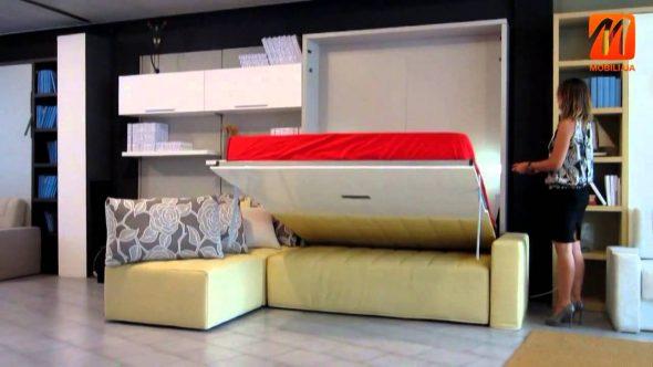 Шкаф кровать вертикальная
