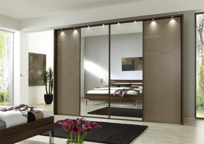 Шкафы купе дизайн зеркала